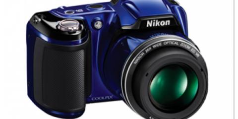 $30 Off Cool Pix L810 Nikon Camera at 17th Street Photo, Manhattan, New York