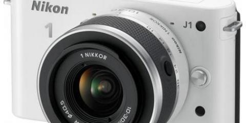 Nikon's Mirrorless J1 Now at a Lower Price at 17th Street, Manhattan, New York
