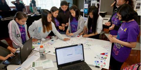 #CyberGirlz: Middle-school girls learn the art of #cybersecurity:, Key Largo, Florida