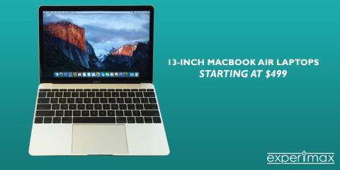 Certified Pre-owned 13-inch MacBook Air Starting at $499!, Portsmouth, New Hampshire
