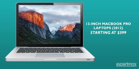13-inch(2012) MacBook® Pro Unibody Laptops Starting at $399, Portsmouth, New Hampshire