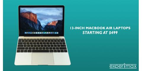 Certified Pre-owned 13-inch MacBook Air Starting at $499!, Manchester, New Hampshire