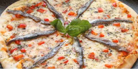 How Anchovies Became a Pizza Topping , Bronx, New York