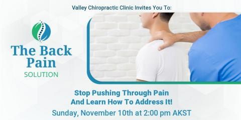 The Back Pain Solution, Juneau County, Alaska