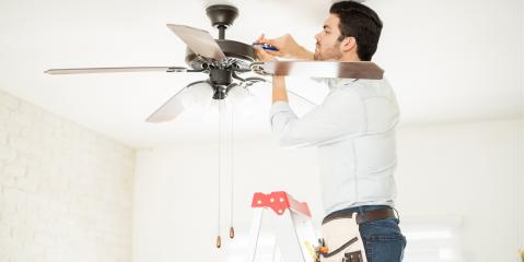 4 Common Ceiling Fan Issues, Wilton, California