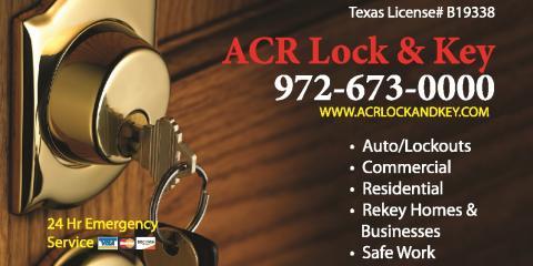 Locksmith Near Me Prosper, TX   A.C.R Lock & Key 972-673-0000, Plano, Texas